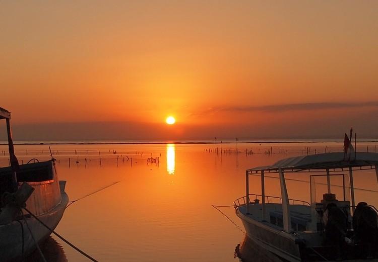 Sunsets in Nusa Lembongan Bali