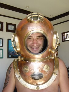 Modern diving equipment