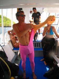 Alternative dive gear