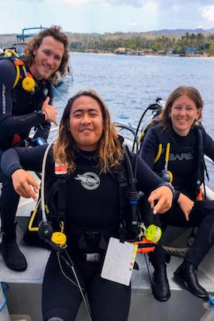learn to dive lembongan