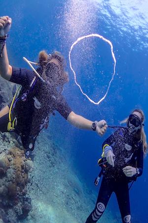 learn to dive bali