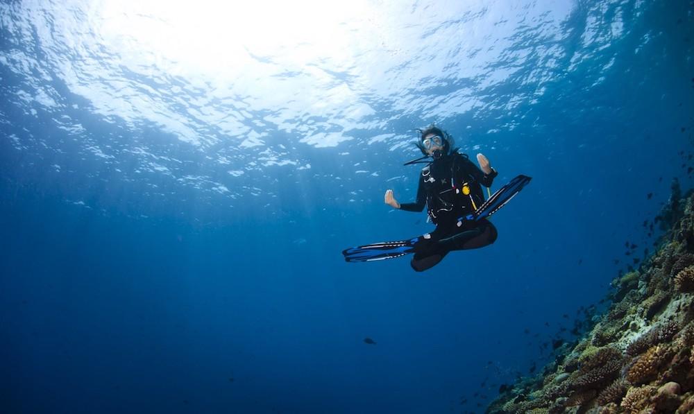 meditation diving